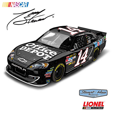 1:24-Scale Tony Stewart No. 14 2012 Office Depot Diecast Car