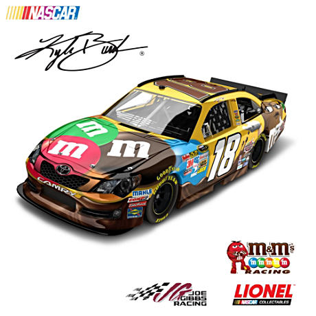 1:24-Scale Kyle Busch 2012 M&M'S Ms. Brown Diecast Car