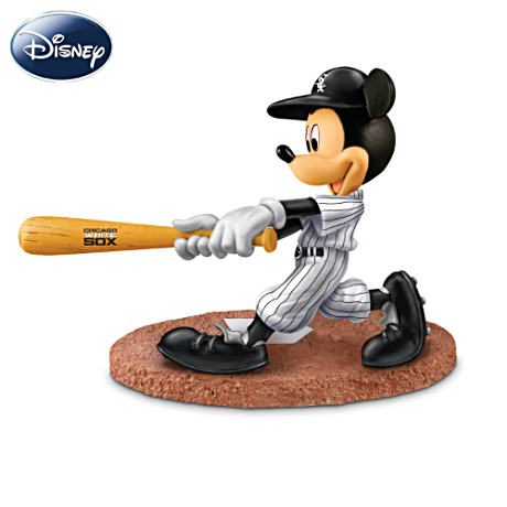 Chicago White Sox Disney Mickey Mouse Batter Figurine