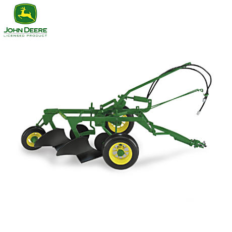 "1:16-Scale ""John Deere #44 2-Bottom Plow"" Diecast"