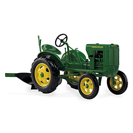 1:16-Scale 1938 John Deere Model L Diecast Tractor With Plow