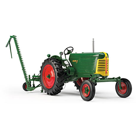 1:16-Scale Oliver 77 Diecast Tractor With Sickle Mower