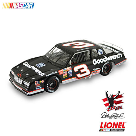 1:24-Scale Dale Earnhardt No. 3 1989 Monte Carlo Diecast Car