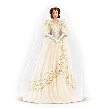 Scarlett O'Hara Wedding Belle Figurine With Tulle Veil