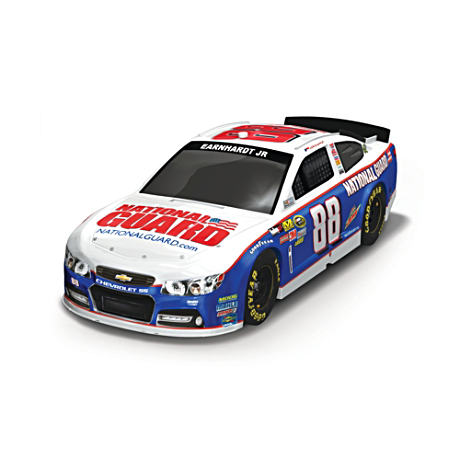 1:18-Scale Dale Earnhardt, Jr. 2013 National Guard Sculpture