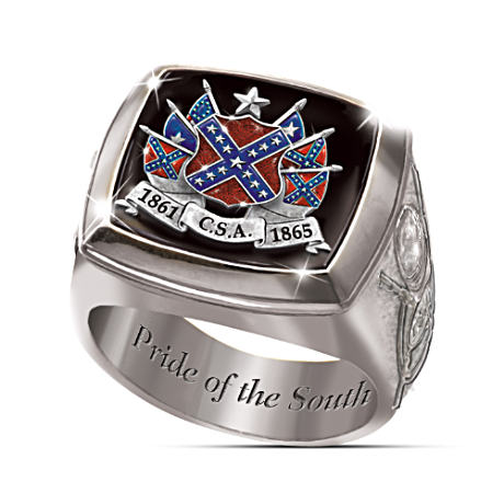 Confederacy Commemorative Men's Ring