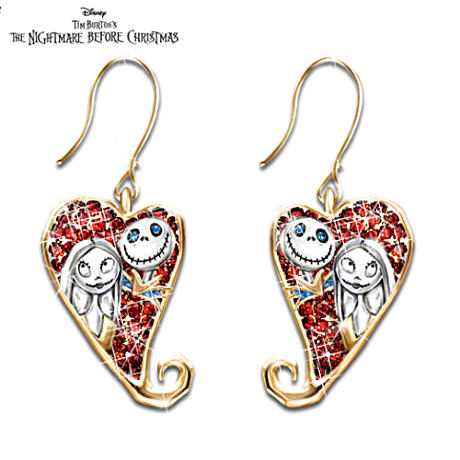 "Tim Burton's ""The Nightmare Before Christmas"" Earrings"