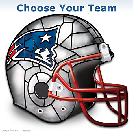 NFL Football Helmet Accent Lamp: Choose Your Team