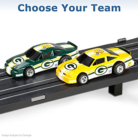 """Choose Your Team"" 1/87 HO-Scale NFL Electric Slot Car Set"