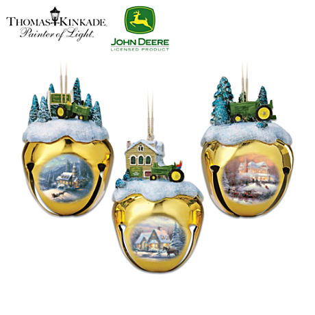 John Deere & Thomas Kinkade Ornament Set: Set Five