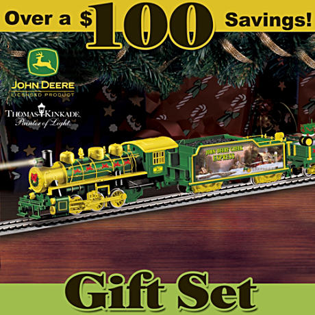 """John Deere Holiday Express"" Illuminated Electric Train"