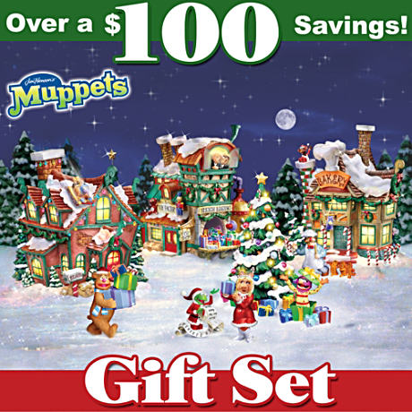 Jim Henson's Muppets Christmas Village Bundle