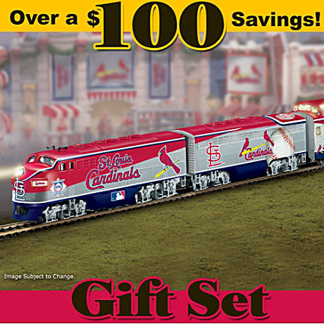 Officially Licensed St. Louis Cardinals Electric Train Set