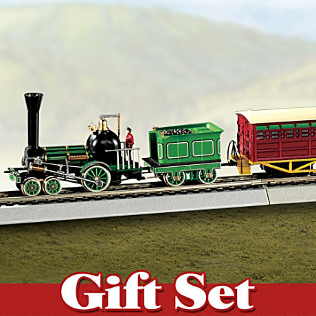 Authentically Re-created Pegasus HO-Scale Electric Train Set