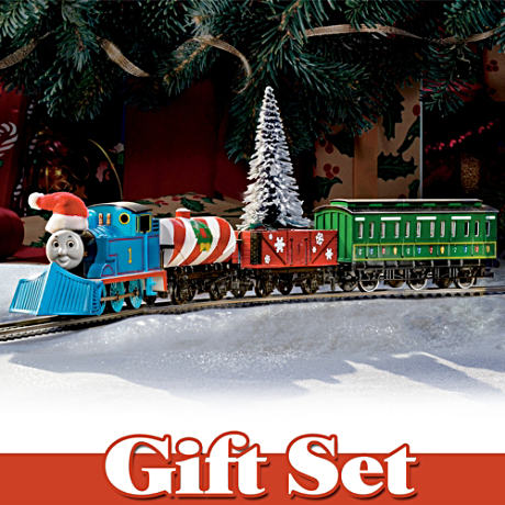 Thomas The Tank Engine 22-Piece Holiday Train Set