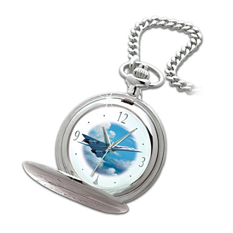 Concorde Airliner Pocket Watch