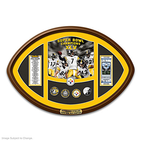 Commemorative Super Bowl XLV Coin Set