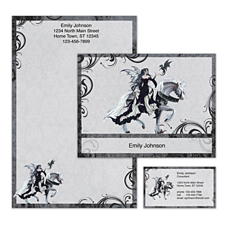 Personalized Stationery With Nene Thomas Fantasy Art