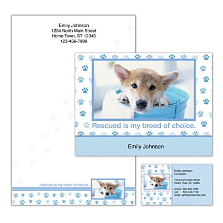 Personalized Stationery Helps Support No-Kill Shelters