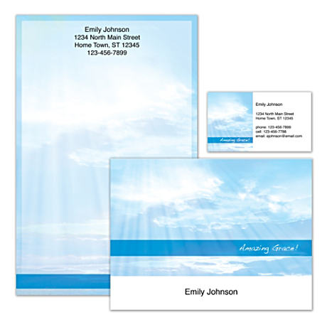 Personalized Stationery With Inspiring Art Of The Heavens