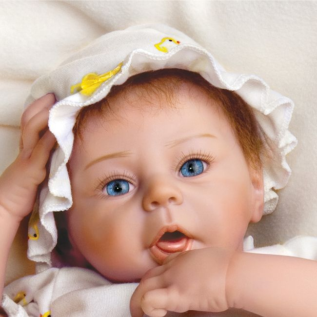 Kitten Kisses Lifelike Baby Doll by Ashton Drake New NRFB ...