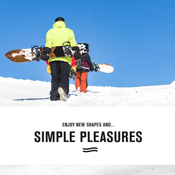 Simple Pleasures Snowboard