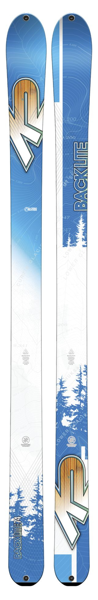 K2 Skis - Backlite 74 Ski