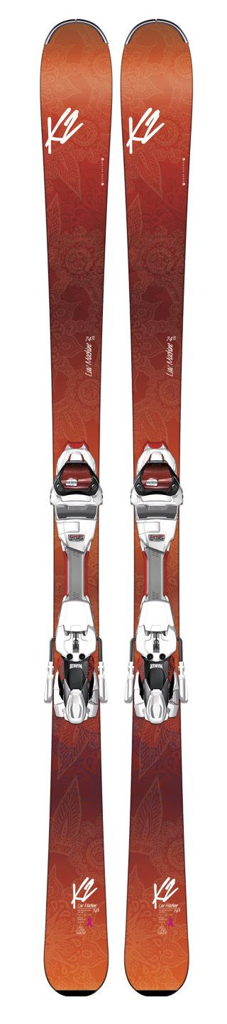 K2 Skis - Luv Machine 74Ti Helmet