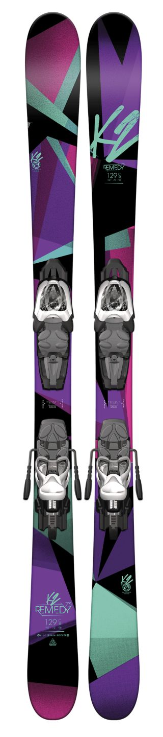 K2 Skis - Remedy 75 Jr. Helmet