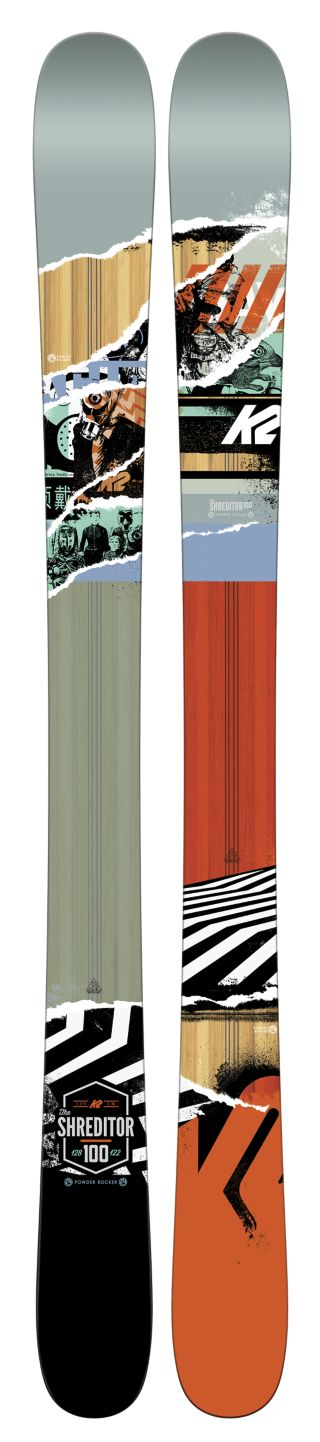 K2 Skis - Shreditor 100 Jr. Ski