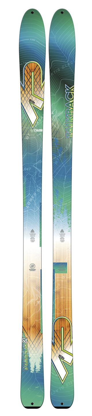 K2 Skis - Talkback 82 ECOre Ski