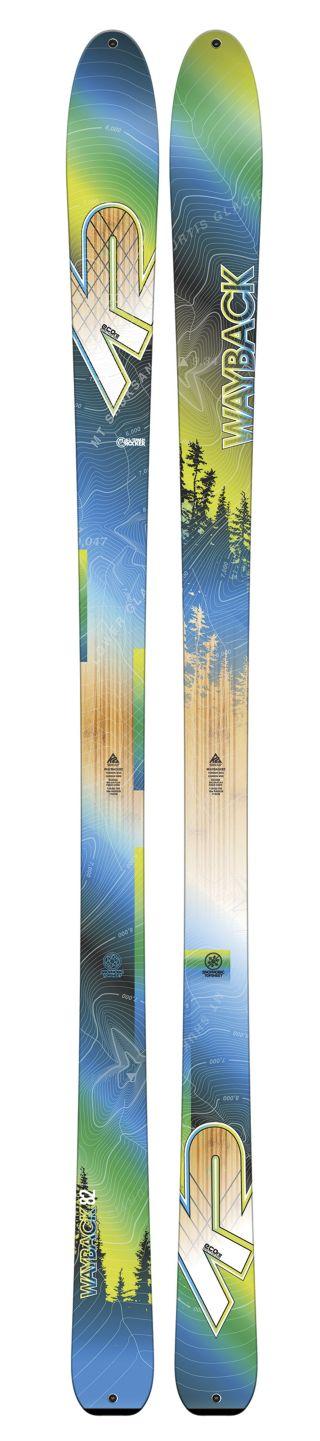 K2 Skis - Wayback 82 Ecore Ski