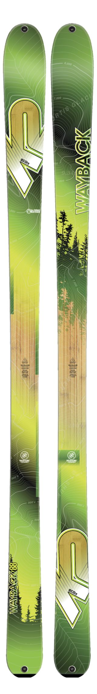 K2 Skis - WayBack 88 Ski