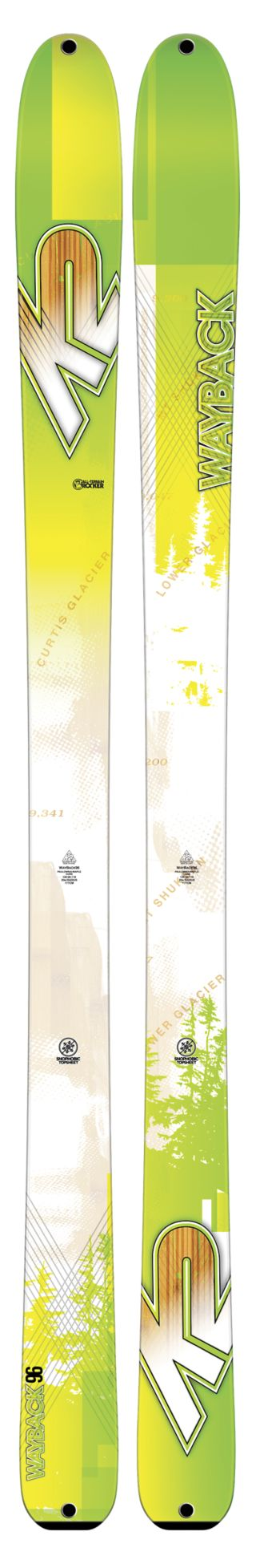 K2 Skis - WayBack 96 Ski