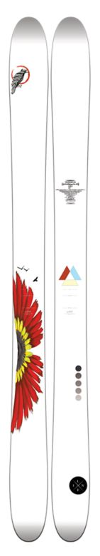 Line Mordecai by Eric Pollard Skis Top