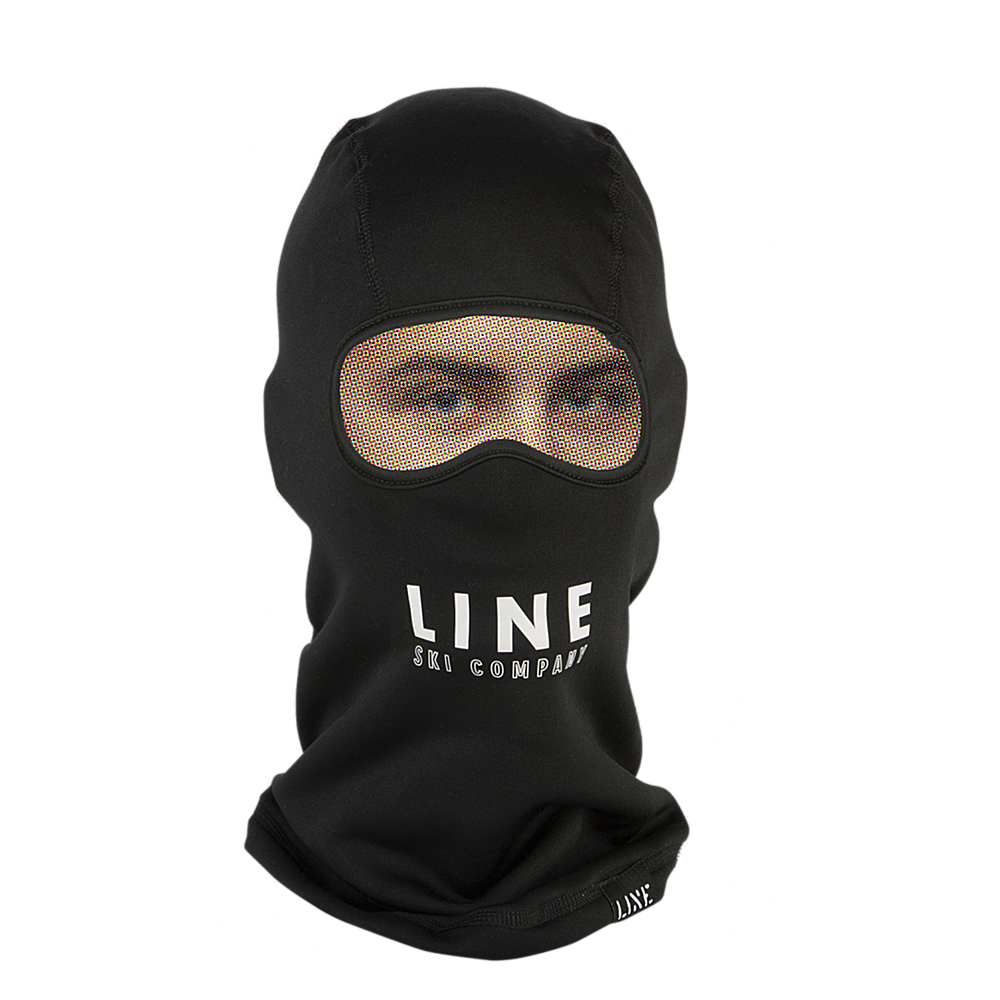 Black t shirt ninja mask - Line Ninja Mask Balaclava Clothing Accessories Black