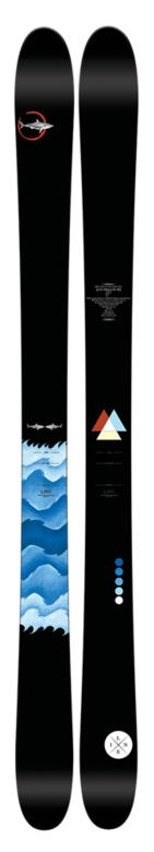 Line Sir Francis Bacon by Eric Pollard Skis Top