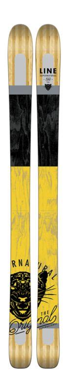 Line Supernatural 100 Skis Top