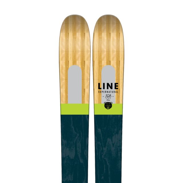 Men s supernatural skis line the best carving