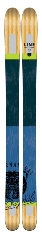 Line Supernatural 108 Skis Top