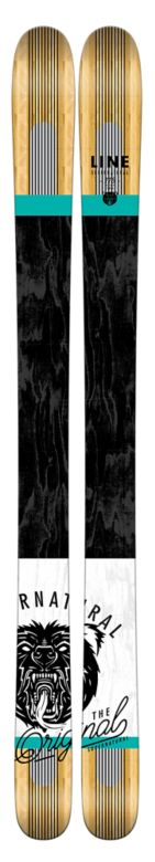 Line Supernatural 115 Skis Top