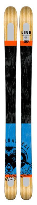 Line Supernatural 86 Skis Top
