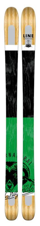 Line Supernatural 92 Skis Top