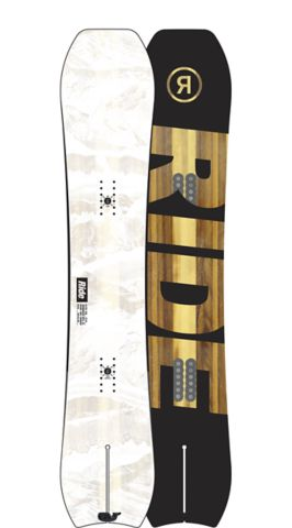 RIDE Snowboards Men's All Mountain Alter Ego Snowboard Alter Ego All Mountain Powder Snowboard 155