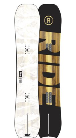 RIDE Snowboards Men's All Mountain Alter Ego Wide Snowboard Alter Ego Wide All Mountain Snowboard 160W