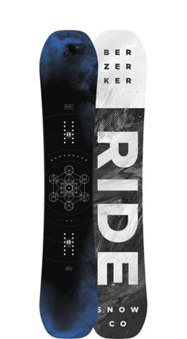 Ride Snowboard's Men's All Mountain Berzerker Snowboard Berzerker All Mountain Powder Snowboard 153