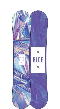 Ride Snowboard's Women's All Mountain Freestyle Compact Snowboard Compact All Mountain Freestyle Snowboard