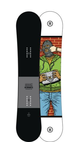 Ride Snowboard Men's All Mountain Freestyle Crook Snowboard Crook All Mountain Freestyle Snowboard 149