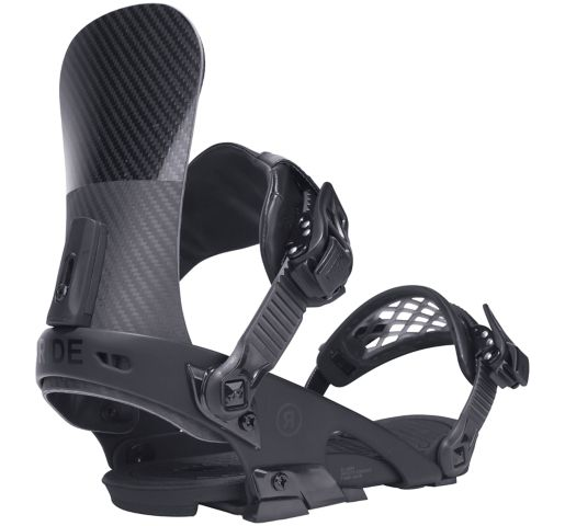 Ride Snowboard's Men's All Mountain El Hefe Snowboard Bindings El Hefe All Mountain Snowboard Bindings BLACK