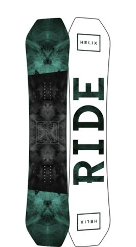 RIDE Snowboards Men's Park Helix Snowboard Helix Park Snowboard 151